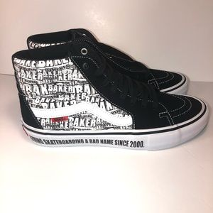 New Vans Sk8 Hi Baker Skateboard MEn siZe 9 no box